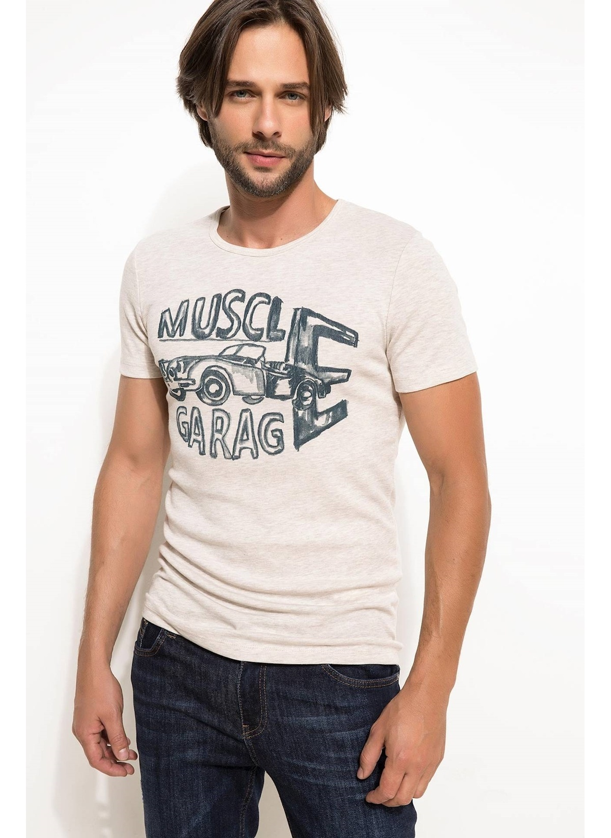 Defacto Tişört I1421az18smbg300t-shirt – 19.99 TL